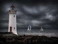 Jenni Horsnell, Australia - Lighthouse and Boats